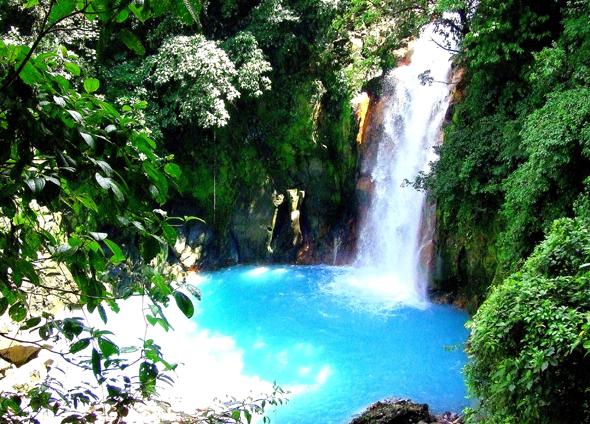 Wasserfall Rio Celeste - ein Wunder der Natur, (Foto Katharina Büttel)