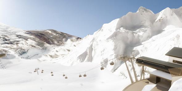 Die Trittkopfbahnen am Arlberg sowie die ebenfalls neue Flexenbahn bilden ab diesem Winter das Drehkreuz des größten österreichischen Skigebiets. (Foto Ski Arlberg)
