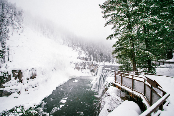 Die Mesa Wasserfälle sind zu jeder Jahreszeit ein besonderes Erlebnis.