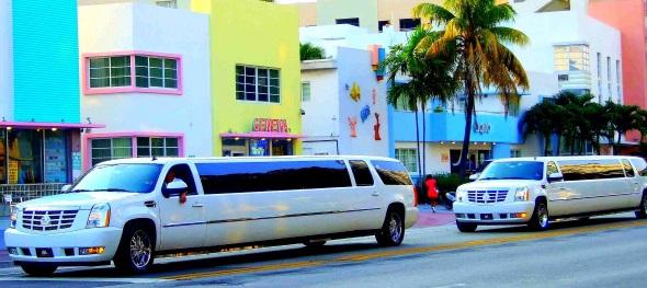 Standesgemäß unterwegs in Miami Beach. (Foto Katharina Büttel)
