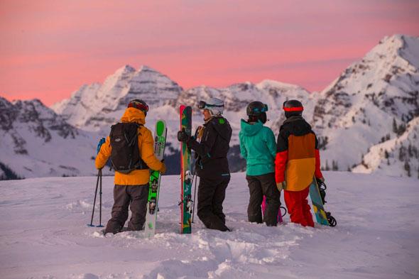 Aspen Snowmass gehört zu den legendären Wintersportgebieten in den Rocky Mountains.