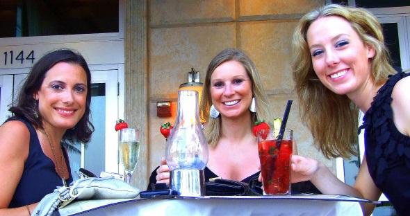 Die Happy Hour am South Beach ist immer auch ein Blickfang. (Foto Katharina Büttel)
