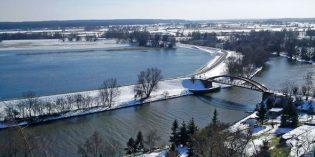 Winterlicher Reiz im Nationalpark Unteres Odertal