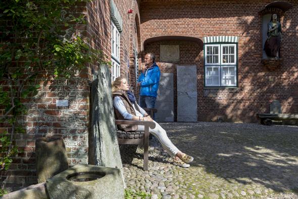 Beleibte Anlaufstelle auf Föhr: das Friesenmuseum. (Foto Jan Christoph Schultchen)