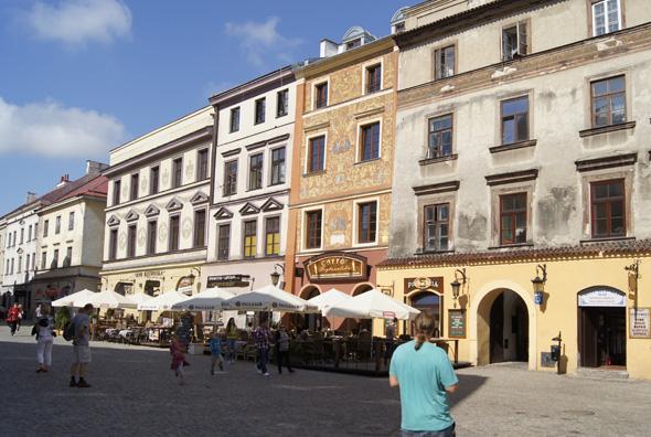 Vor allem die Lubliner Altstadt v erfügt über zahlreiche charmante Gebäudeensembles.