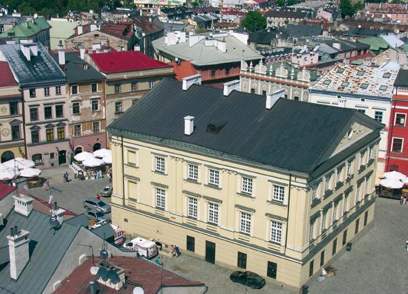 Im polnischen Lublin finden sich zahlreiche Prachtbauten wie das Krontribunal.