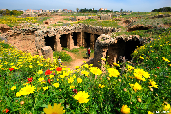 Auch die Königsgräber von Nea Paphos sind unbedingt einen Besuch wert. (Foto Cyprus Tourism Organisation)