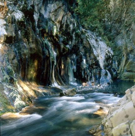 Taiwans natürliche Quellen garantieren besonderen Badegenuss.