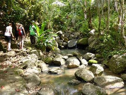 Wanderfreunde können die famose Natur der Inselwelt auf Schusters Rappen erkunden.