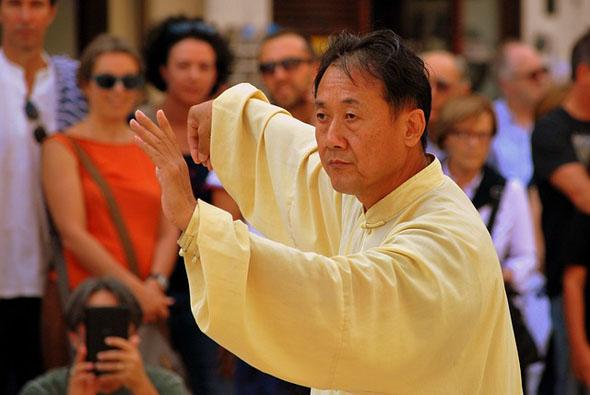 Tai Chi gehört für viele zu den täglichen Ritualen.