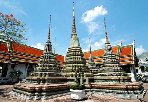 Thailands Hauptstadt Bangkok verzeichnete die meisten Übernachtungen weltweit.