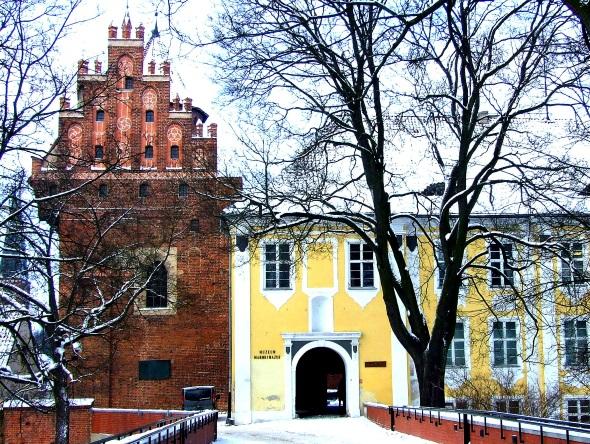 Das ehemalige Schloss im Zentrum von Allenstein (Olsztyn). (Foto Katharina Büttel)