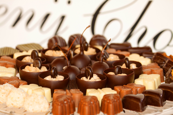 Schleckermäuler kommen beim Schokoladenfestival voll auf ihre Kosten. (Fotos ART)
