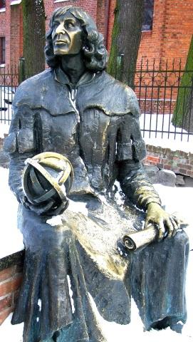 Astronom Nikolaus Kopernikus (1473-1543) war mit Masuren fest verbunden. (Foto Katharina Büttel)