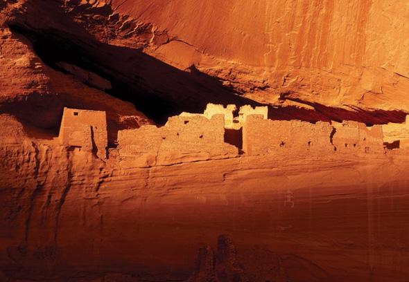 Pracht im Fels: die White House Ruin im Canyon de Chelly.