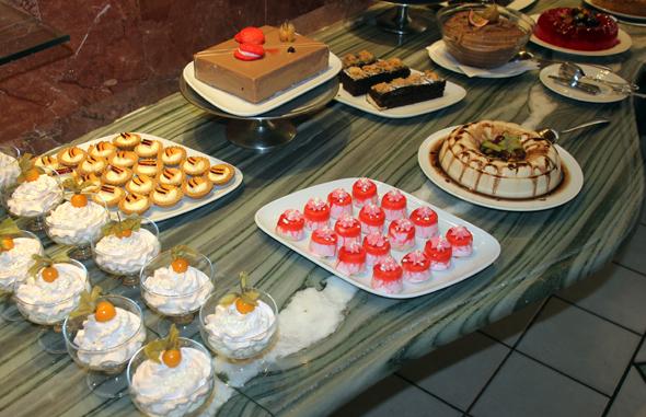 Nicht nur beim Dessert wird Abwechselung groß geschrieben. (Foto Karsten-Thilo Raab)