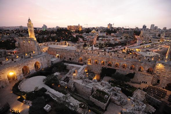 Überaus beeindruckend: das Davidsturm-Museum in Jeruslalem. (Foto Naftali Hilger)