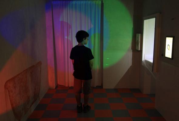 Faszineirende Lichtspiele (Foto Sasson Tiram)