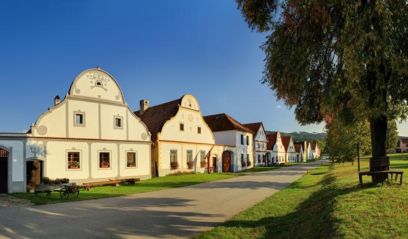 Ein Meisterwerk barocker Baukunst: Holašovice. (Foto Libor Svacek)