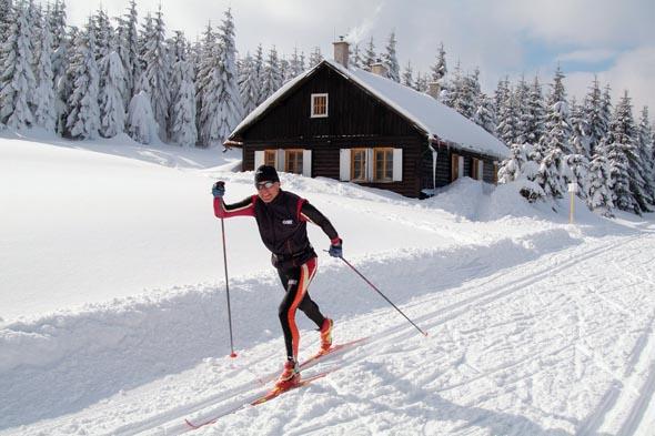 Langläufer finden in vielen Teilen des Riesengebirges ideale Bedingungen. (Foto Czech Tourism)