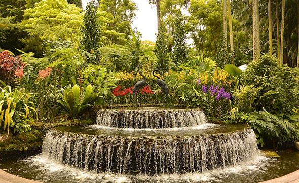 Die beeindruckenden Singapore Botanic Gardens gehören zum Welterbe der UNESCO.
