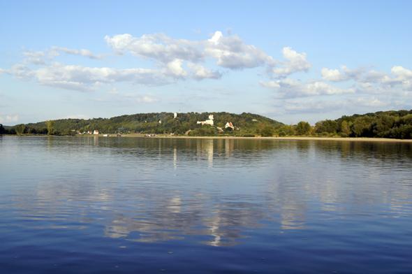Die Weichsel ist mit 1.047 Kilometern Polens längster Fluss. (Foto Klaus Klöppel)