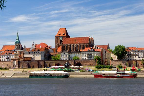Toruń ist eine der vier Städte, in denen das Weichsel-Jahr mit einem Fest begangen wird. (Foto Polnisches Fremdenverkehrsamt)