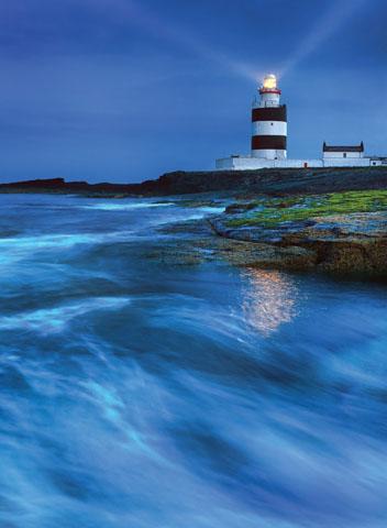 Überaus spektakulär: das Hook Lighthouse in der Grafschaft Wexford. (Foto Stephen Emerson)