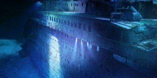 Asisi-Panorama lässt die Titanic in Leipzig versinken
