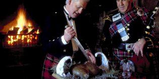 Schottland begeht die traditionelle Burns Night