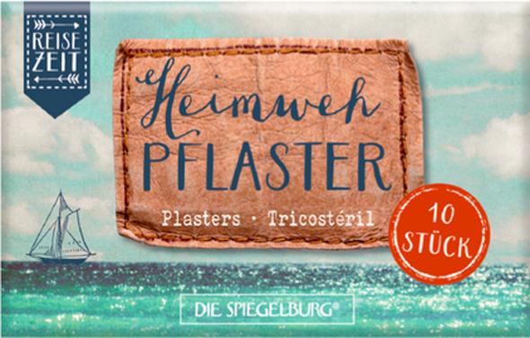 """Praktisch, hilfreich und ein kleiner Seelentröster unterwegs: die Heimweh-Pflaster von """"Die Spielburg"""""""