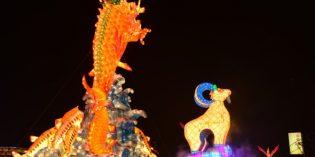 """Laternenfest in Yunlin – Taiwan stimmt sich auf das """"Jahr des Feuerhahns"""" ein"""