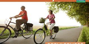 Kostenfreier Tourenplaner für den Weser-Radweg