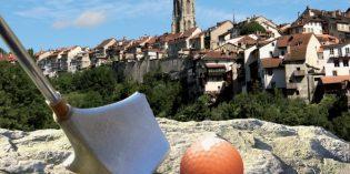 Stadtgolf in Fribourg und Velo-Golf am Murtensee