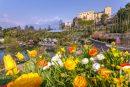 Frühlingsstart in den Gärten von Schloss Trauttmansdorff