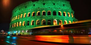 Alles in Grün: Global Greening zum St. Patrick's Day