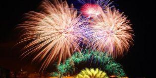 Großer Feuerwerkzauber auf Malta und Gozo