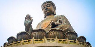 Hongkongs einmal anders:Der Buddha von Po Lin