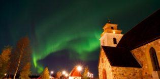 Kirchgang-Pflicht imWeltkulturerbe Gammelstad