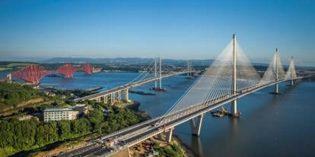 Schottland: Neue Brücke über den Firth of Forth