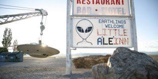 Auf dem E.T. Highway quer durch Nevada
