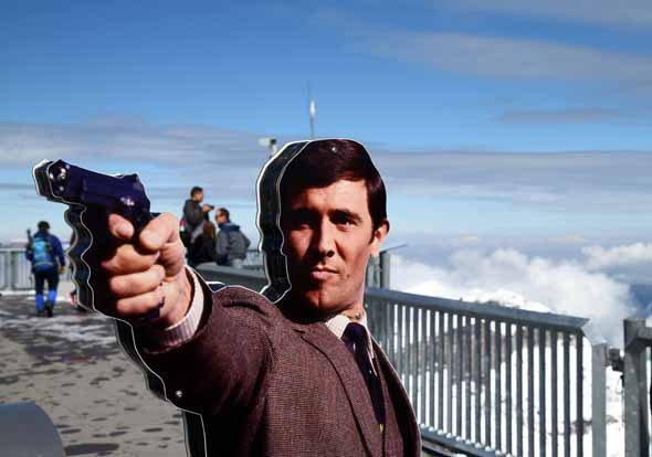 Bond World 007 auf dem Schilthorn