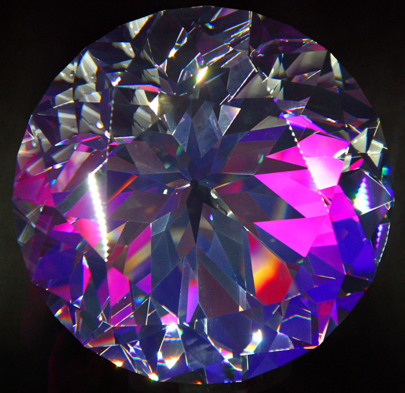 Groß, größer, Swarovskis Kristall... (Foto Karsten-Thilo Raab)