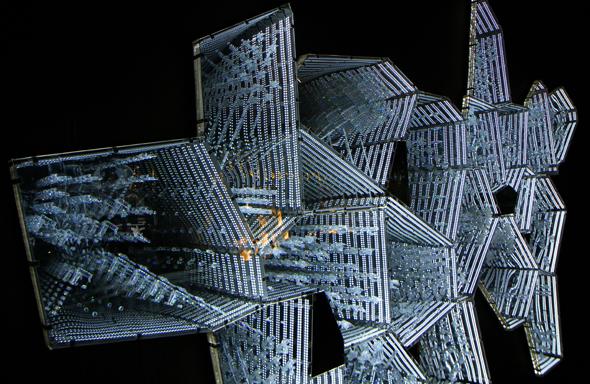 Filigran und futuristisch muten manche Exponate an. (Foto Karsten-Thilo raab)