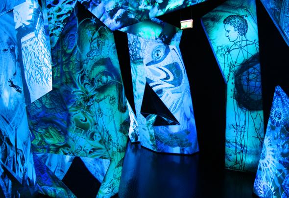 Der Phantasie sind in den warovskis Kristallwelten keine Grenzen gesetzt. (Foto Karsten-Thilo Raab)