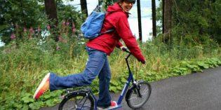 Schwungvoll zu Tale sausen – die Schweizer Bergwelt per Trotti-Bike erfahren