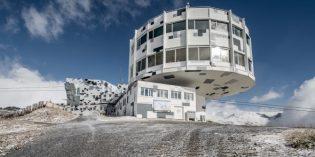 Laax mit erneuerter, futuristischer Bergstation