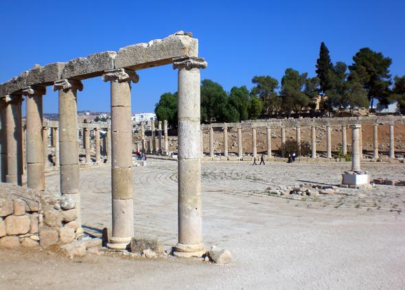 Überaus beeindruckend ist die Weite des antiken Forums. (Foto Karsten-Thilo Raab)