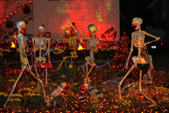 Im Herbst präsentiert sich Louisiana gerne von seiner charmant gruseligen Seite - und dies nicht nur zu Halloween. (Foto Paul Broussard)