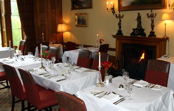 Im hoteleigenen Restaurant kommen vornehmlich typisch schottische Gerichte mit raffinierter Note auf den Tisch. (Foto Karsten-Thilo Taab)